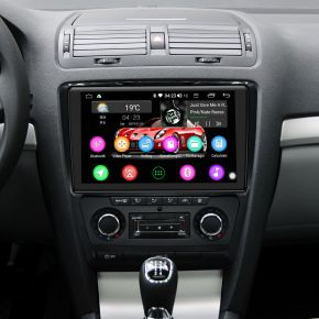 skoda octavia replacement head unit