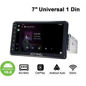 android 10 car stereo single din
