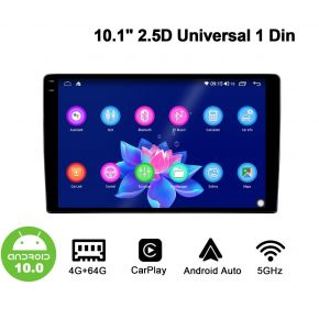 android 10.0 single din stereo